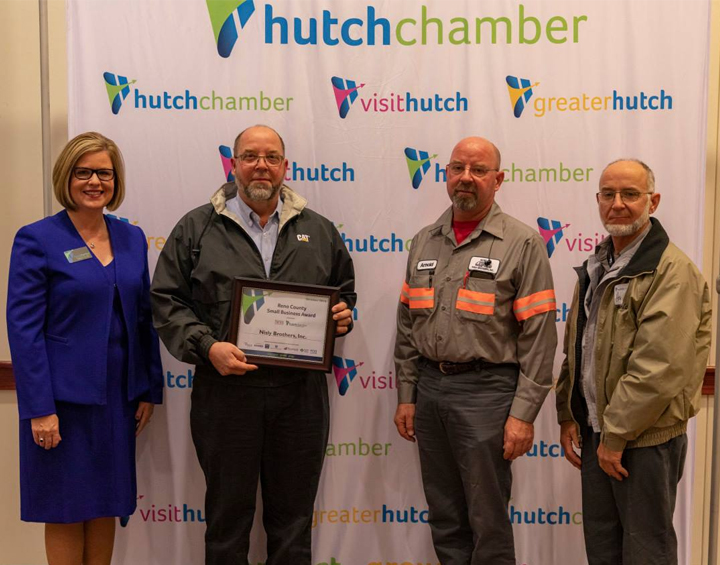 Nisly Brothers Receives October Small Business Award Photo - Click Here to See