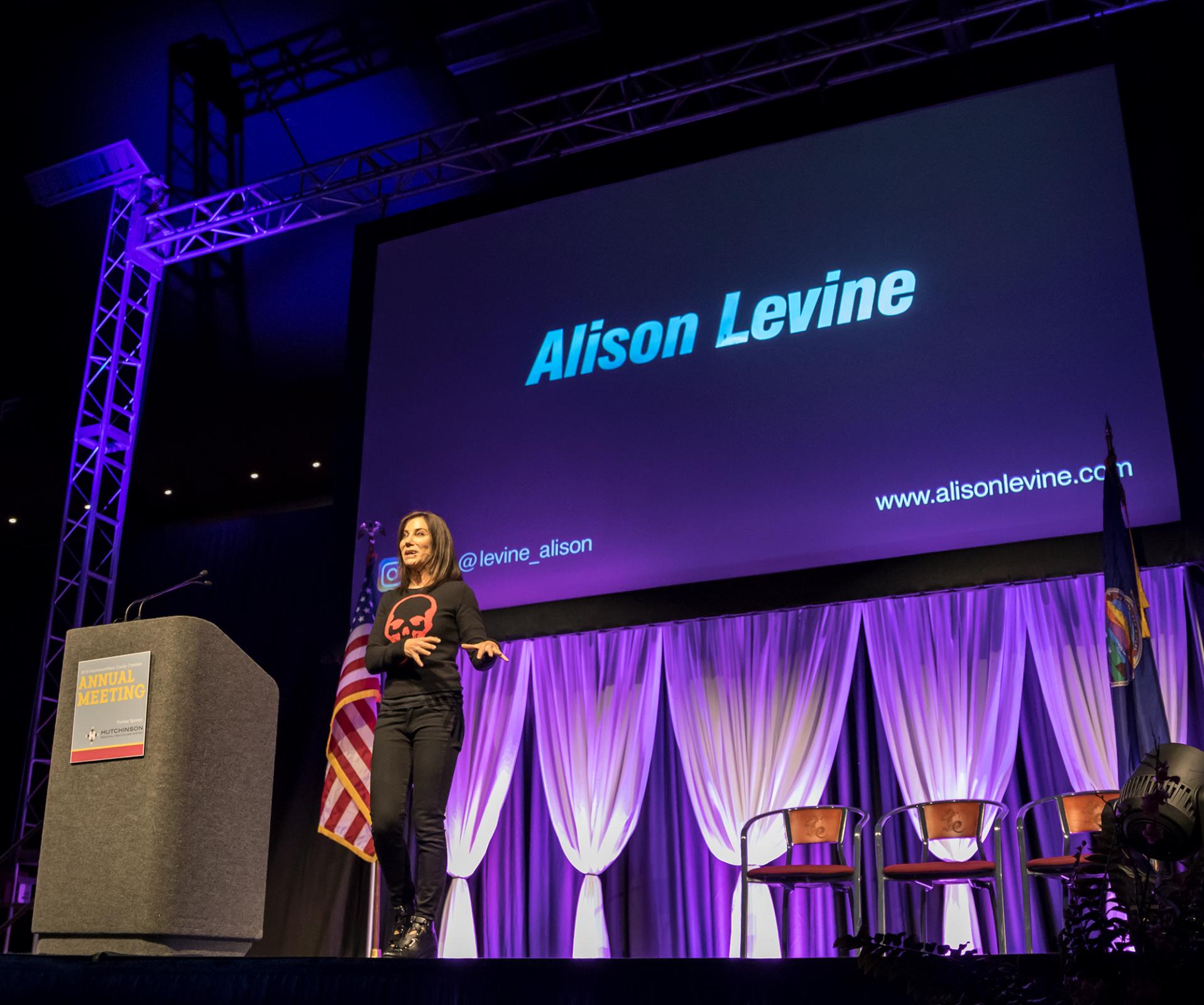 Featured Speaker - Alison Levine